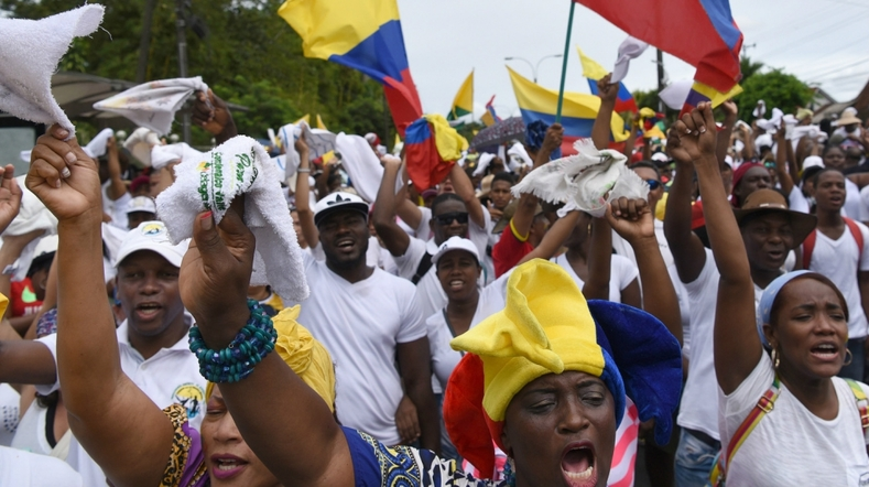 Colombie : retour sur la grève de mai 2017 et l'histoire des luttes de libération afro-colombiennes